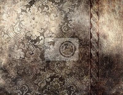 dekorativen silbernen Hintergrund