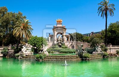 Der Parc de la Ciutadella. Barcelona.