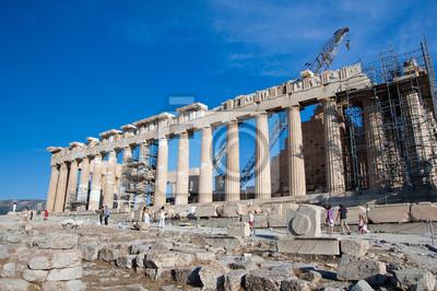Der Parthenon auf der Athener Akropolis, Griechenland.