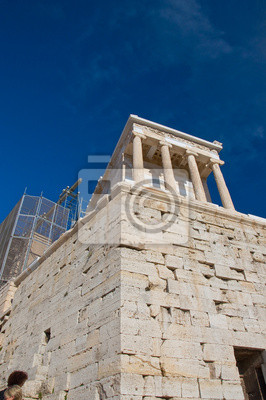 Der Tempel der Athena Nike. Athen, Griechenland.