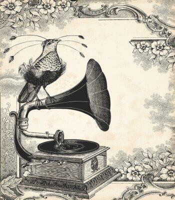 Poster Der Vogel Musik