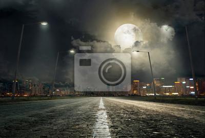 Poster Der Weg in die Stadt 2