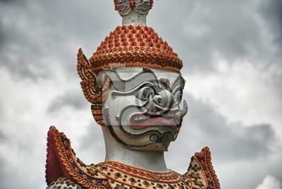 Detail eines Thailand-Tempel in Bangkok