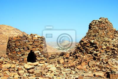 Die alten Bienenkorbgräber von Jabal Misht West
