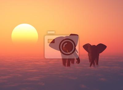 Die Elefantenherde