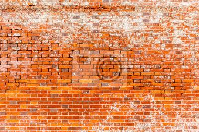 Poster Die Grungy Mauer Muster Der äußeren Gebäude.