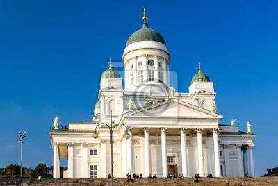 Die Helsinki lutherischen Kathedrale, Finnland