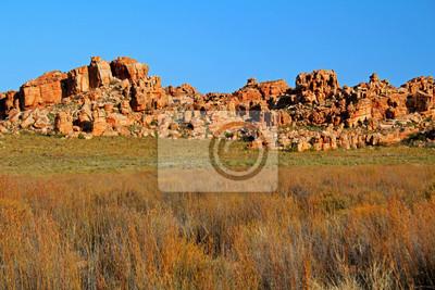 Die Höhlen Stadsaal Landschaft in der Cederberg, Südafrika