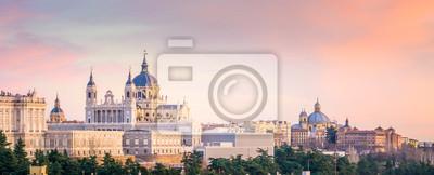 Poster Die Kathedrale von Madrid