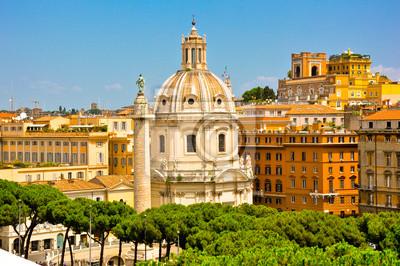 Die Kirche der Mariä Namen in der Trajan Forum