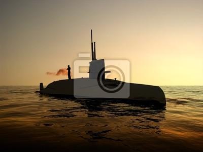 Die militärische Schiff