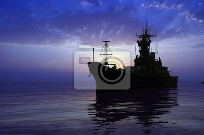 Die Militärschiff