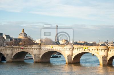 Die Pont Neuf. Paris, Frankreich.