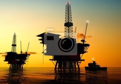 Die Produktion von Erdöl