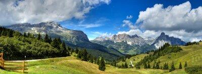 Poster Dolomiti - Alta Badia Panorama