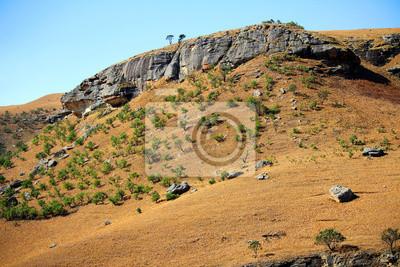 Drakensberge - Dragon Berge, Landschaft