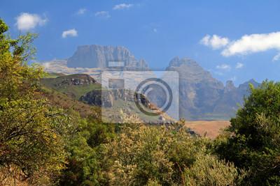 Drakensberge Sphinx zu Fuß