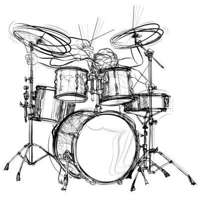 Poster drummer