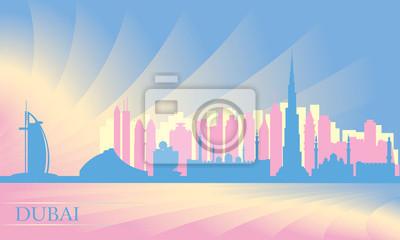 Dubai Skyline der Stadt