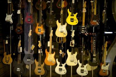 Poster E-Gitarren