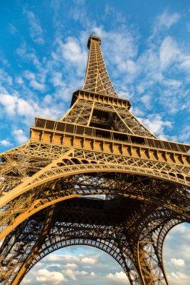 Poster Eiffelturm in Paris
