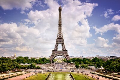 Poster Eiffelturm, Paris