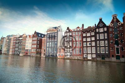 Einer der berühmtesten europäischen Stadt Amsterdam. Die Hauptstadt o