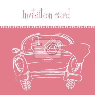 Poster Einladungskarte