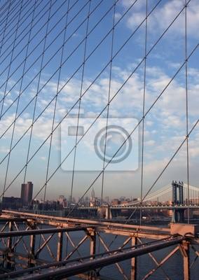 Poster einzigartigen Blick auf New York City