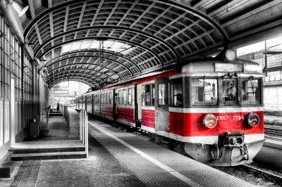 Poster Eisenbahn