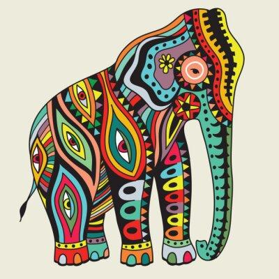 Poster Elefant Abbildung