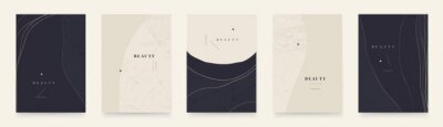Elegant abstract trendy universal background templates. Minimalist aesthetic.