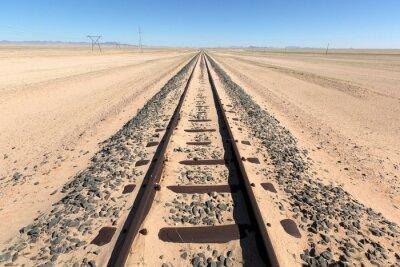 Endless train track