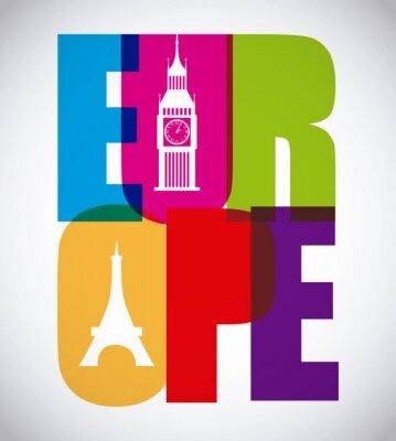 Poster europe design