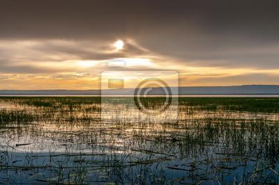 Evening view at lake Awasa