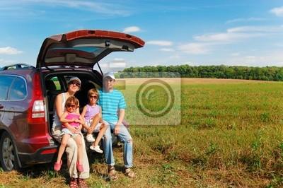 Familien-Autoreise