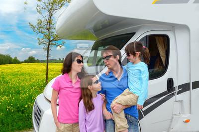 Familienurlaub, RV (Wohnmobil) reisen mit Kindern