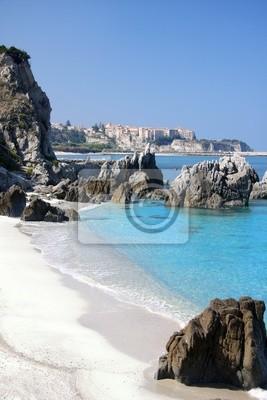 Fantastische Küste von Kalabrien, Italien