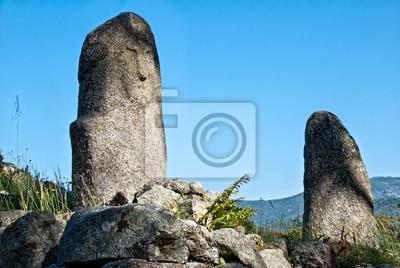 Filitosa, alte archäologische Stätte in Korsika