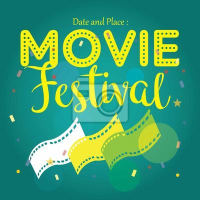 Filmplakat event für festival event, banner, broschüre, flyer ...