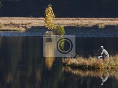 Fischer auf dem See