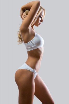 Poster Fitness Frau