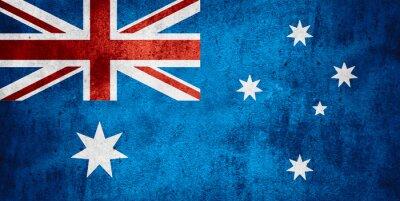 Poster Flagge von Australien