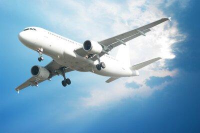 Poster Flugzeug