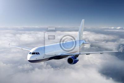 Poster Flugzeuge im Himmel