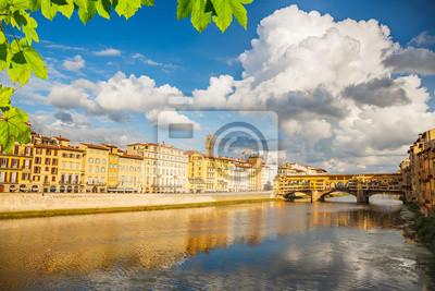 Fluss Arno in Florenz