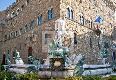 Fontaine à Florence en Italie
