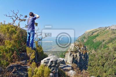 Fotograf in Blyde River Canyon, Reisen in Südafrika