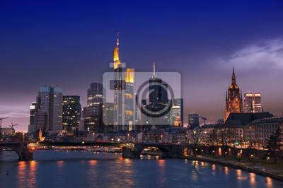 Frankfurt Skyline, Deutschland