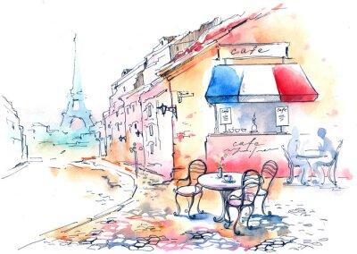 Poster Frankreich